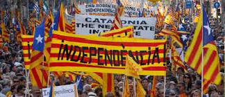 L'Espagne divisé en deux clans