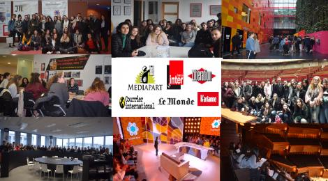 Séjour à Paris pour la classe Médias