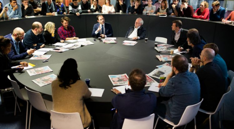 Le Figaro VS Libération:
